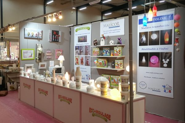 ECO MOULAGE POPSINE Stand Eclair